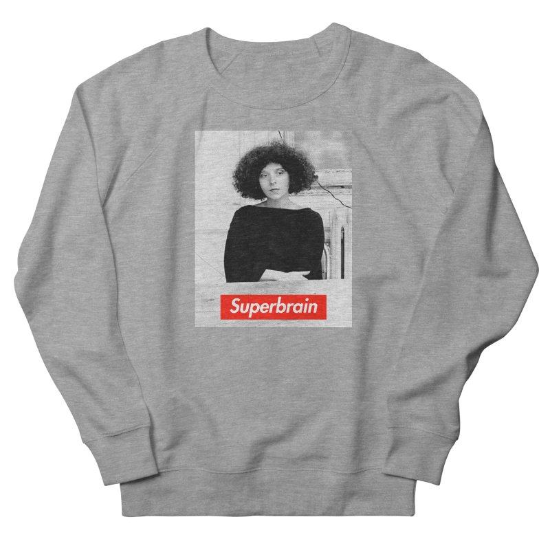 Superbrain - Barbara Kruger Men's Sweatshirt by WeandJeeb's Artist Shop