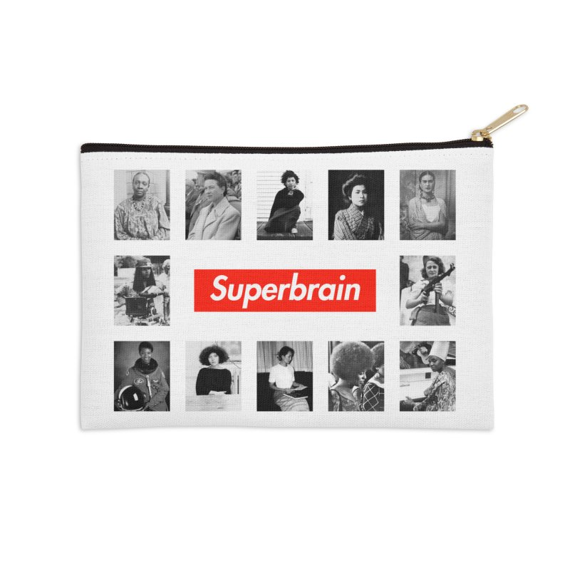 Superbrain Accessories Zip Pouch by WeandJeeb's Artist Shop