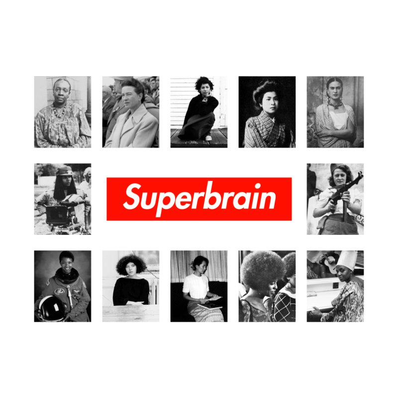 Superbrain by WeandJeeb's Artist Shop