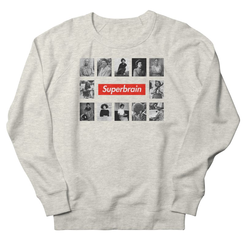 Superbrain Men's Sweatshirt by WeandJeeb's Artist Shop