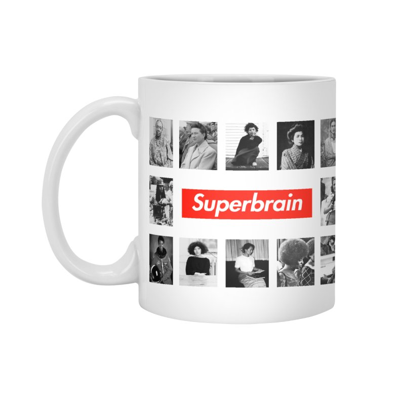 Superbrain Accessories Mug by WeandJeeb's Artist Shop