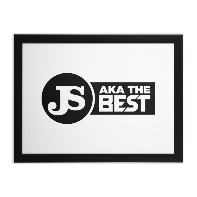 JS aka The Best Home Framed Fine Art Print by Weapon X Evolution merchandise