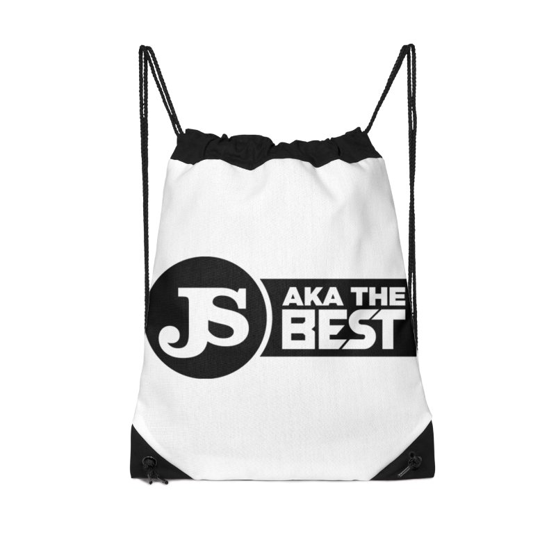 JS aka The Best Accessories Drawstring Bag Bag by Weapon X Evolution merchandise