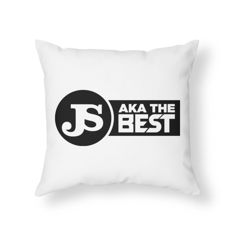 JS aka The Best Home Throw Pillow by Weapon X Evolution merchandise