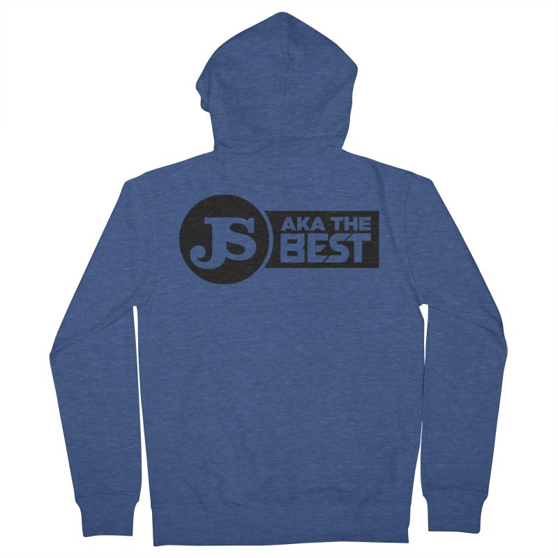JS aka The Best Women's French Terry Zip-Up Hoody by Weapon X Evolution merchandise