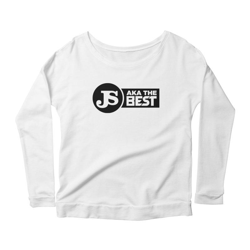 JS aka The Best Women's Scoop Neck Longsleeve T-Shirt by Weapon X Evolution merchandise