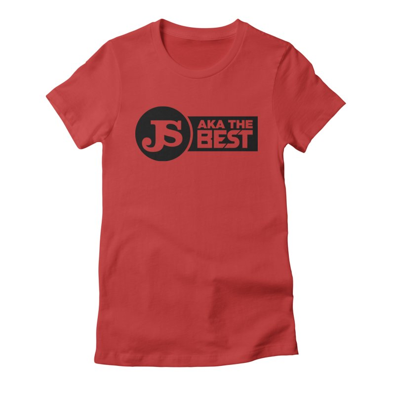 JS aka The Best Women's Fitted T-Shirt by Weapon X Evolution merchandise