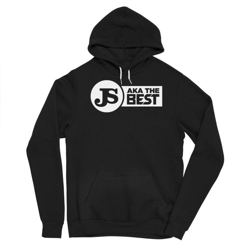 JS aka The Best (White) Men's Sponge Fleece Pullover Hoody by Weapon X Evolution merchandise