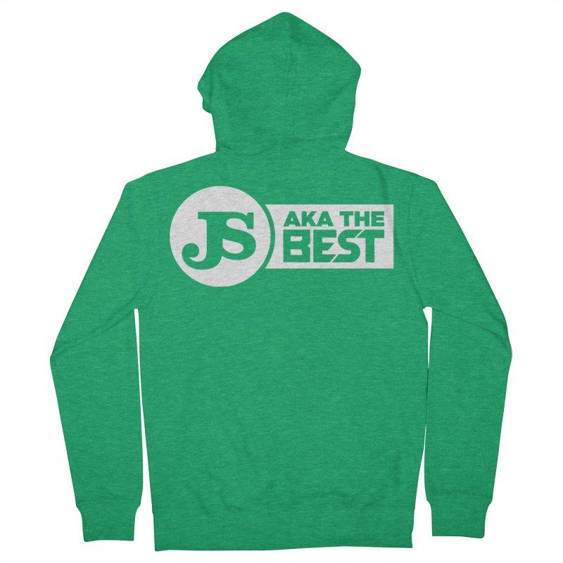 JS aka The Best (White) Men's Zip-Up Hoody by Weapon X Evolution merchandise
