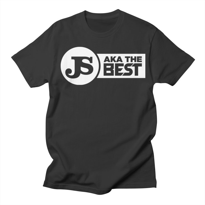 JS aka The Best (White) Men's T-Shirt by Weapon X Evolution merchandise