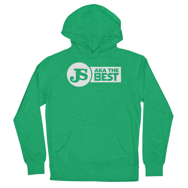 JS aka The Best (White) Women's Pullover Hoody by Weapon X Evolution merchandise