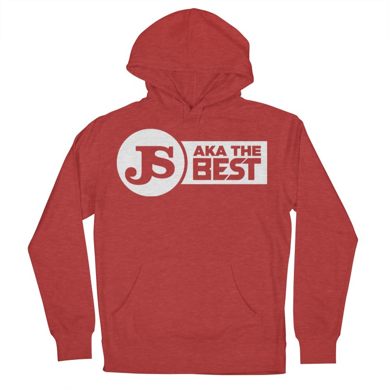 JS aka The Best (White) Women's French Terry Pullover Hoody by Weapon X Evolution merchandise