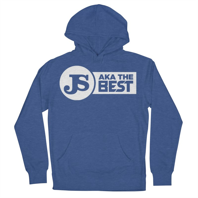 JS aka The Best (White) Men's French Terry Pullover Hoody by Weapon X Evolution merchandise