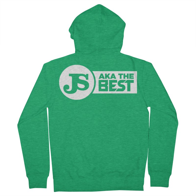 JS aka The Best (White) Women's Zip-Up Hoody by Weapon X Evolution merchandise