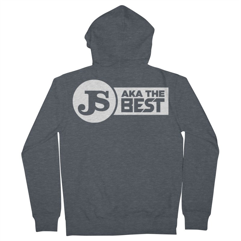 JS aka The Best (White) Men's Zip-Up Hoody by Weapon X Evolution merchandise