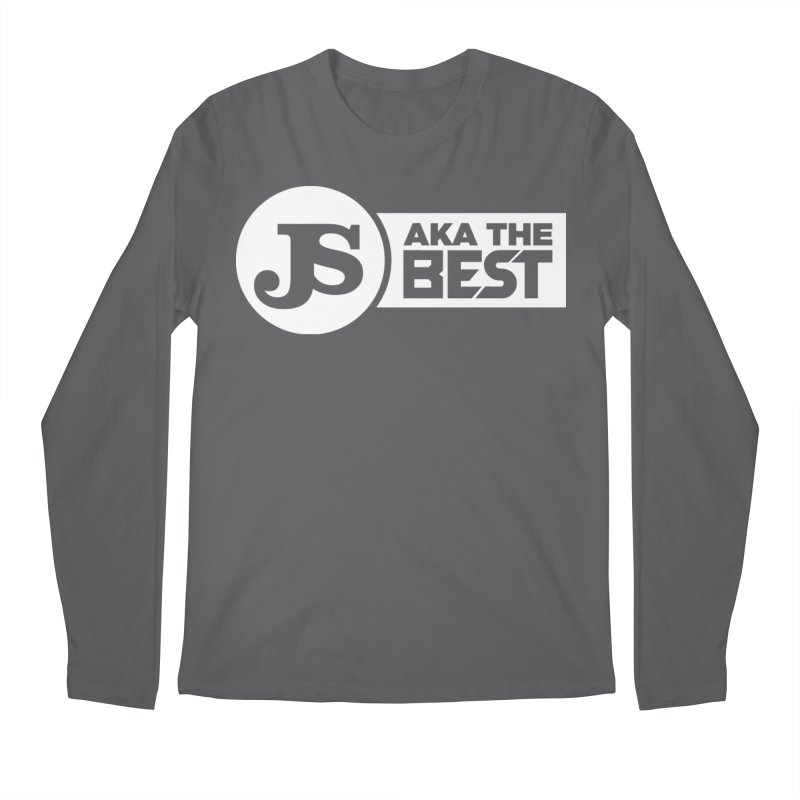 JS aka The Best (White) Men's Regular Longsleeve T-Shirt by Weapon X Evolution merchandise