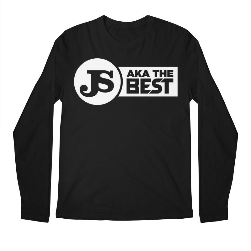 JS aka The Best (White) Men's Regular Longsleeve T-Shirt by Weapon X Evolution merchandise