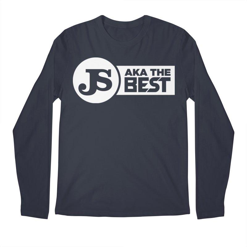 JS aka The Best (White) Men's Longsleeve T-Shirt by Weapon X Evolution merchandise