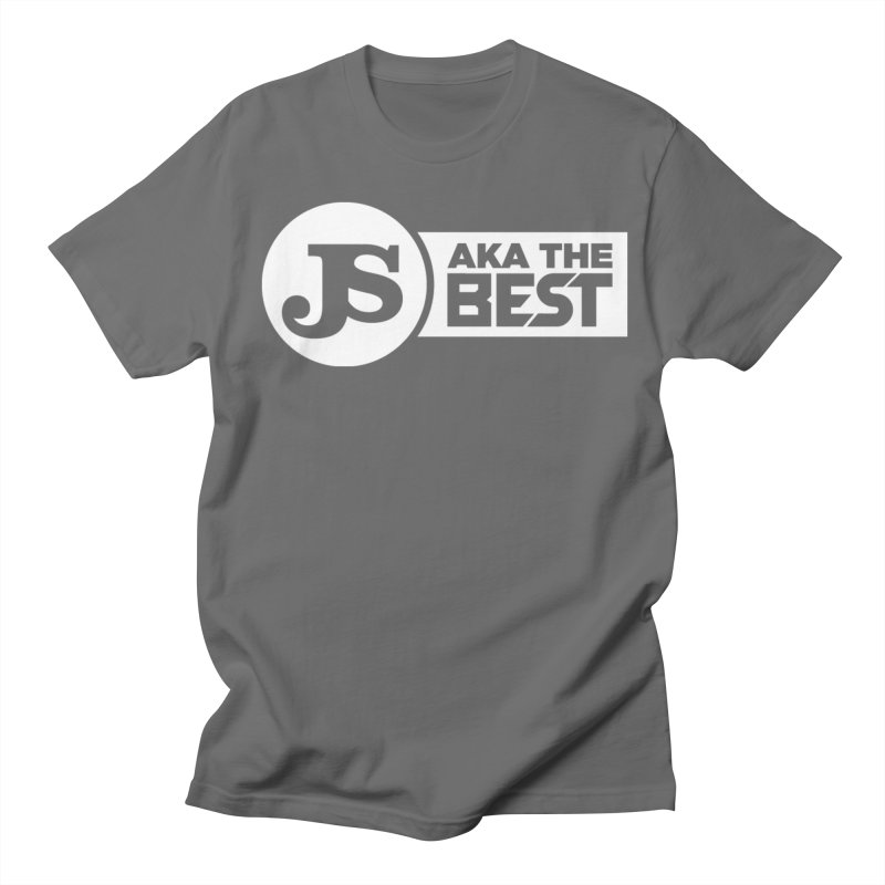 JS aka The Best (White) Men's Regular T-Shirt by Weapon X Evolution merchandise