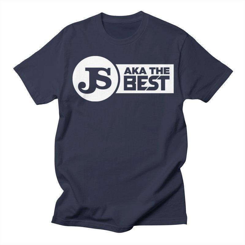 JS aka The Best (White) Men's Regular T-Shirt by Weapon X Evolution merchandise