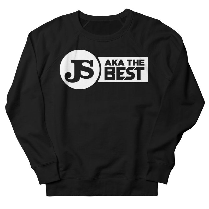 JS aka The Best (White) Women's French Terry Sweatshirt by Weapon X Evolution merchandise