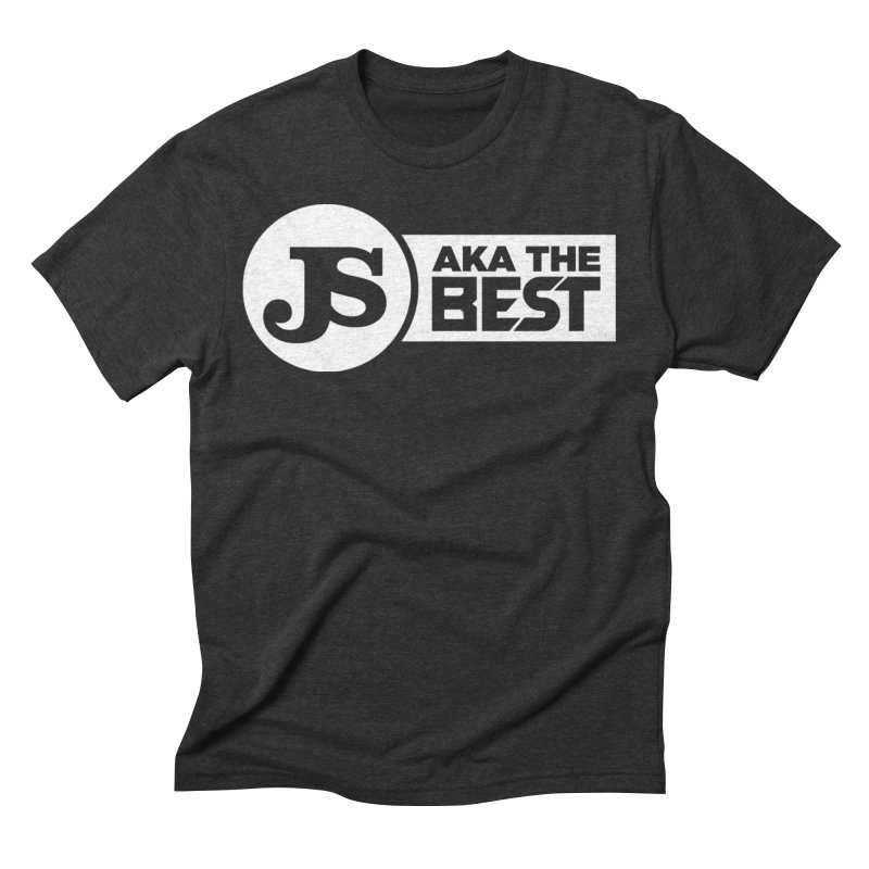 JS aka The Best (White) Men's Triblend T-Shirt by Weapon X Evolution merchandise