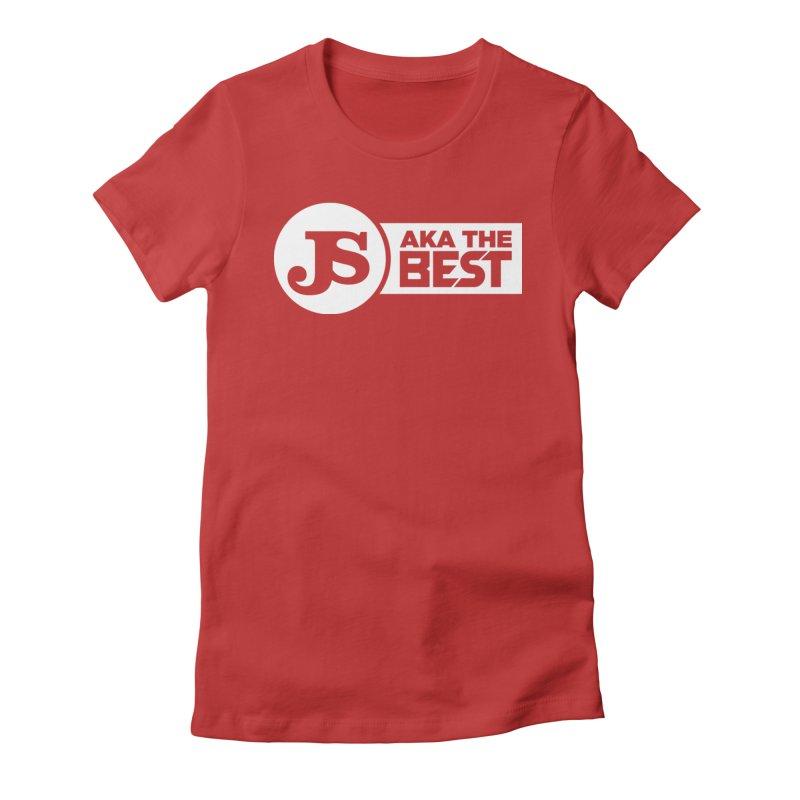JS aka The Best (White) Women's T-Shirt by Weapon X Evolution merchandise
