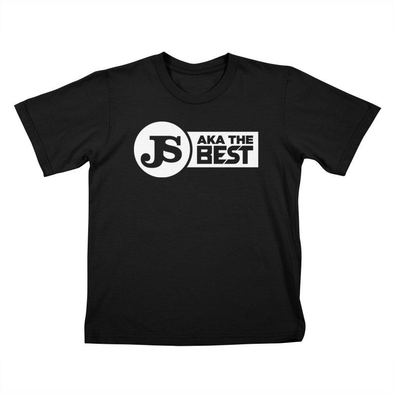 JS aka The Best (White) Kids T-Shirt by Weapon X Evolution merchandise