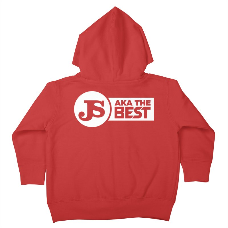 JS aka The Best (White) Kids Toddler Zip-Up Hoody by Weapon X Evolution merchandise