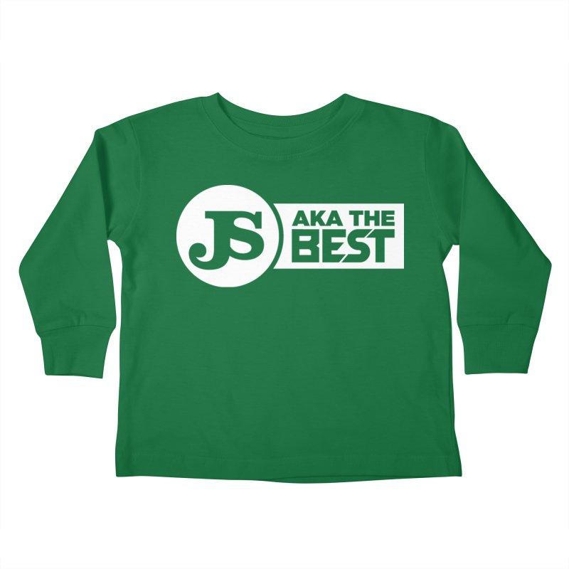JS aka The Best (White) Kids Toddler Longsleeve T-Shirt by Weapon X Evolution merchandise