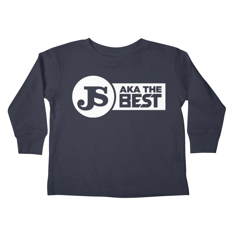JS aka The Best (White) Kids Toddler Longsleeve T-Shirt by Weapon X Evolution merchandise