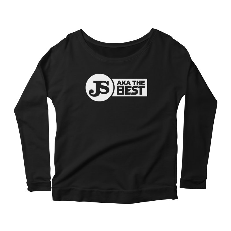 JS aka The Best (White) Women's Scoop Neck Longsleeve T-Shirt by Weapon X Evolution merchandise