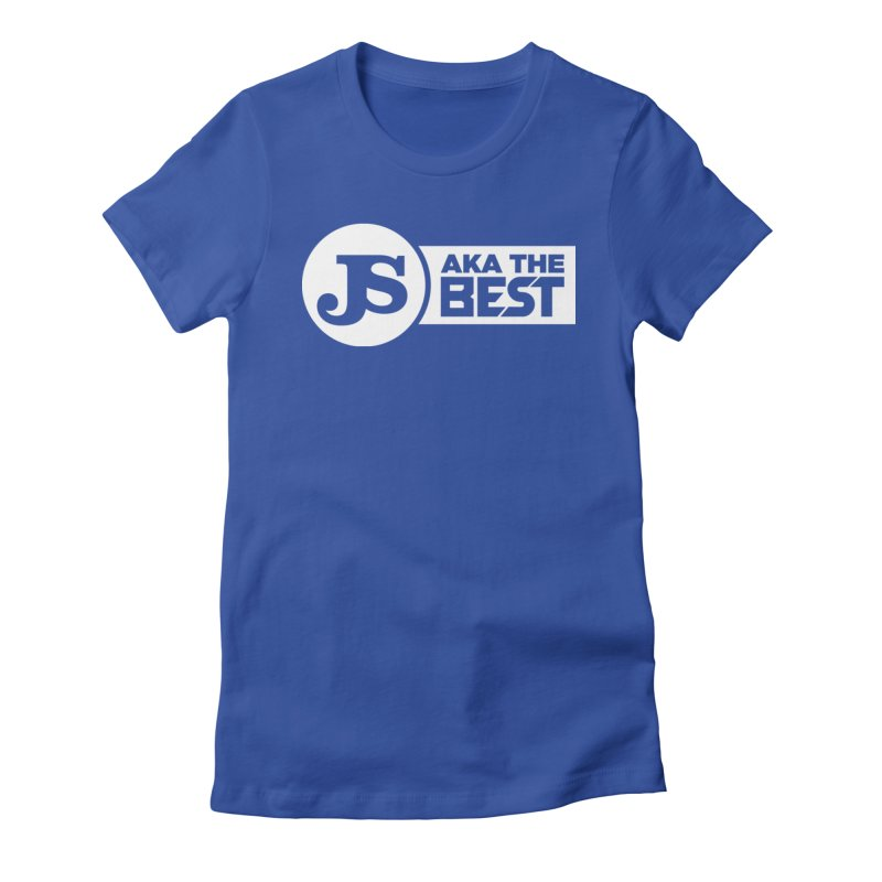 JS aka The Best (White) Women's Fitted T-Shirt by Weapon X Evolution merchandise