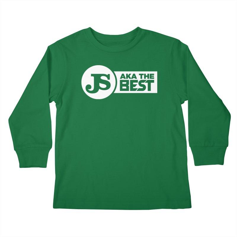 JS aka The Best (White) Kids Longsleeve T-Shirt by Weapon X Evolution merchandise