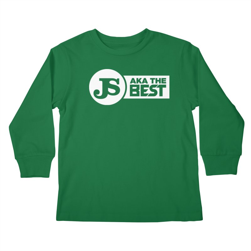 JS aka The Best (White) Kids Longsleeve T-Shirt by Weapon X Evolution merchandise