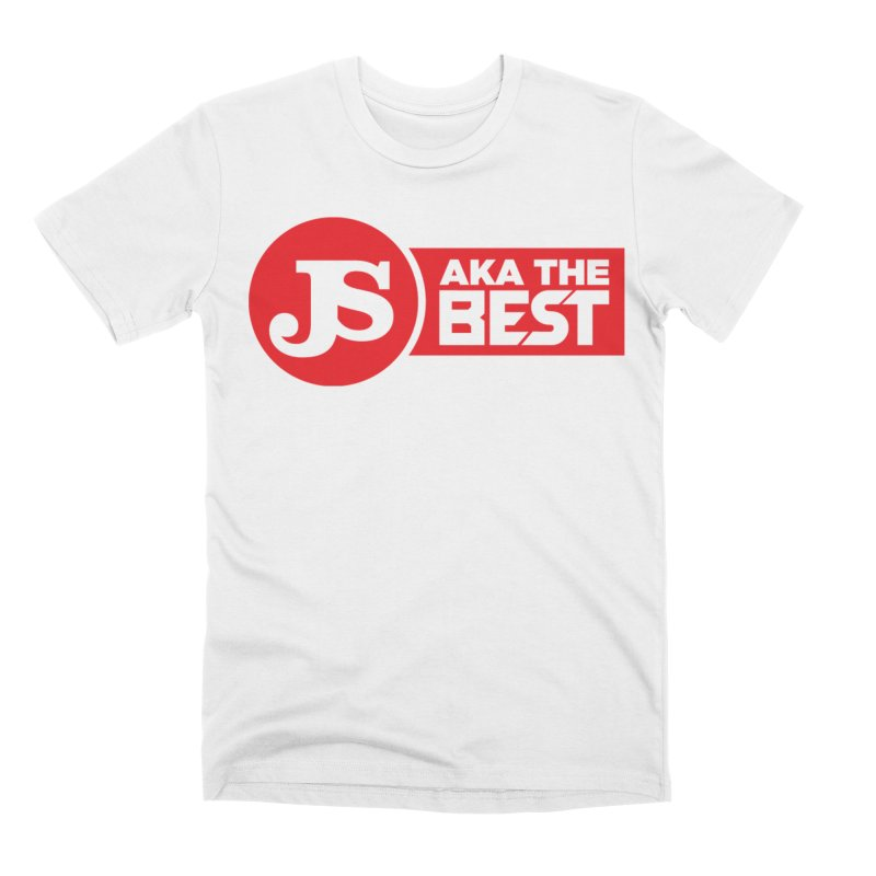 JS aka The Best (Red) Men's Premium T-Shirt by Weapon X Evolution merchandise