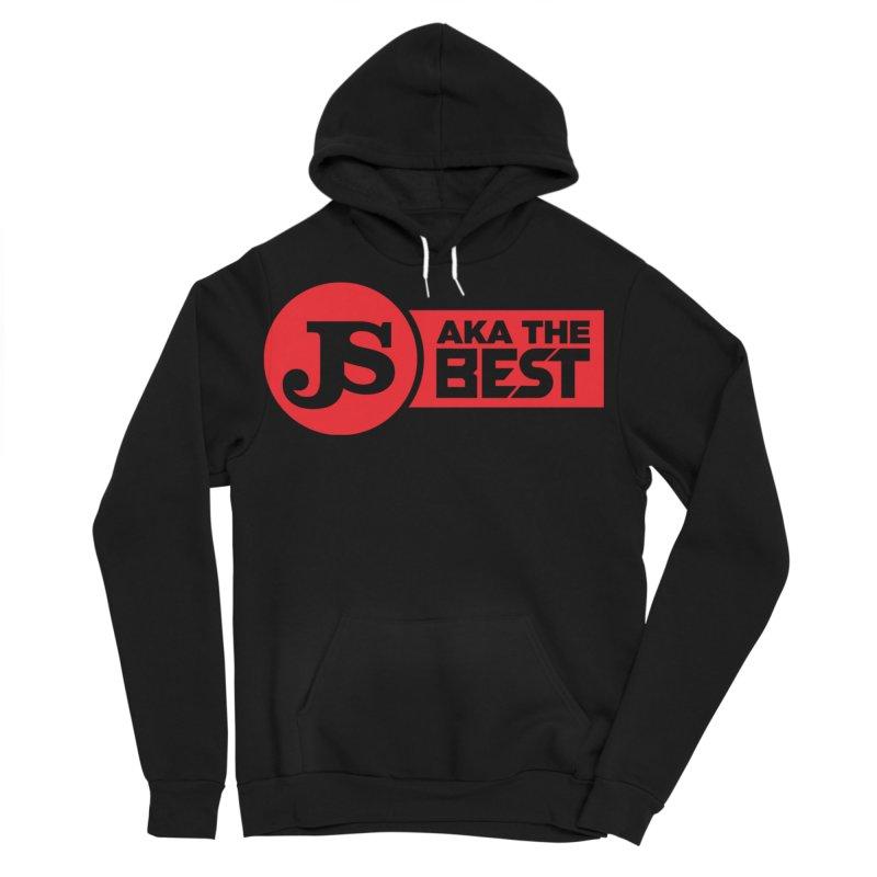 JS aka The Best (Red) Men's Sponge Fleece Pullover Hoody by Weapon X Evolution merchandise
