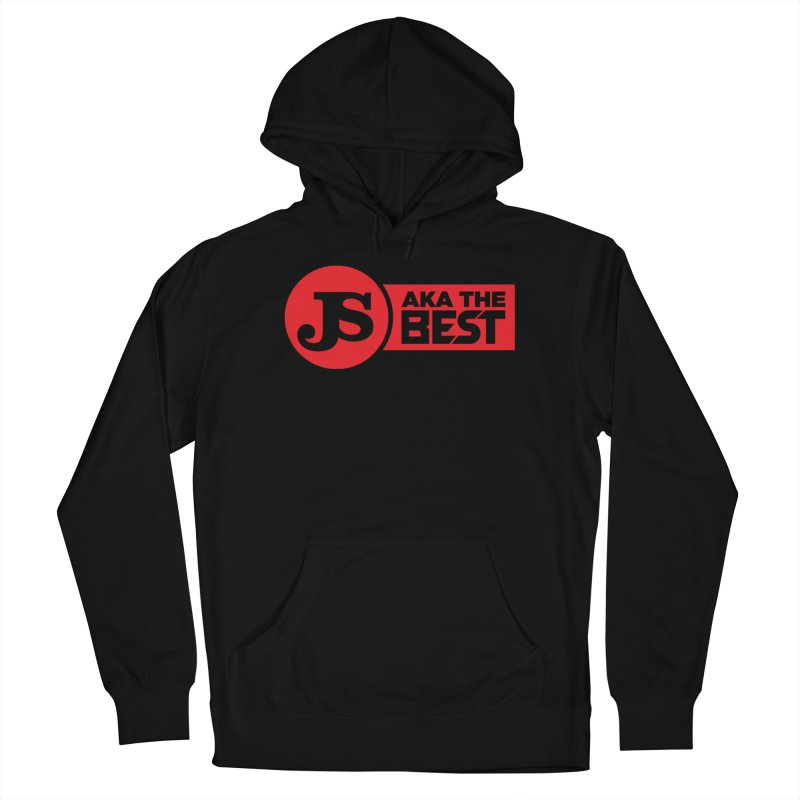 JS aka The Best (Red) Men's French Terry Pullover Hoody by Weapon X Evolution merchandise