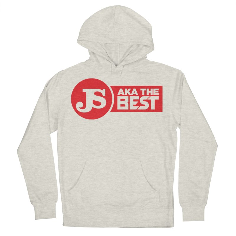 JS aka The Best (Red) Women's French Terry Pullover Hoody by Weapon X Evolution merchandise