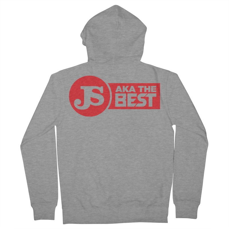 JS aka The Best (Red) Women's French Terry Zip-Up Hoody by Weapon X Evolution merchandise