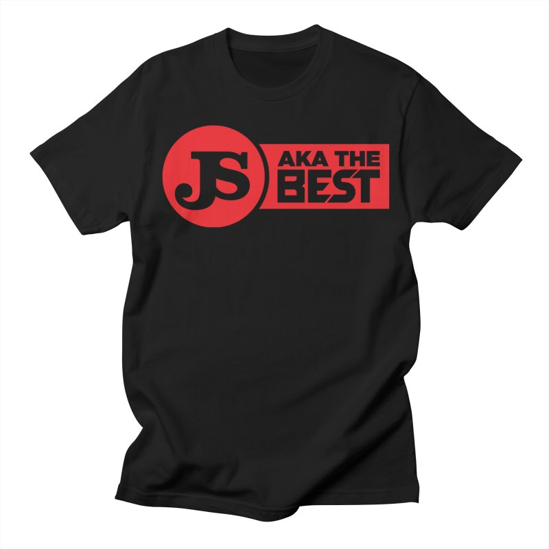 JS aka The Best (Red) Men's Regular T-Shirt by Weapon X Evolution merchandise