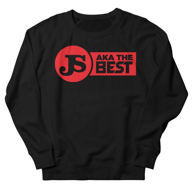 JS aka The Best (Red) Men's French Terry Sweatshirt by Weapon X Evolution merchandise