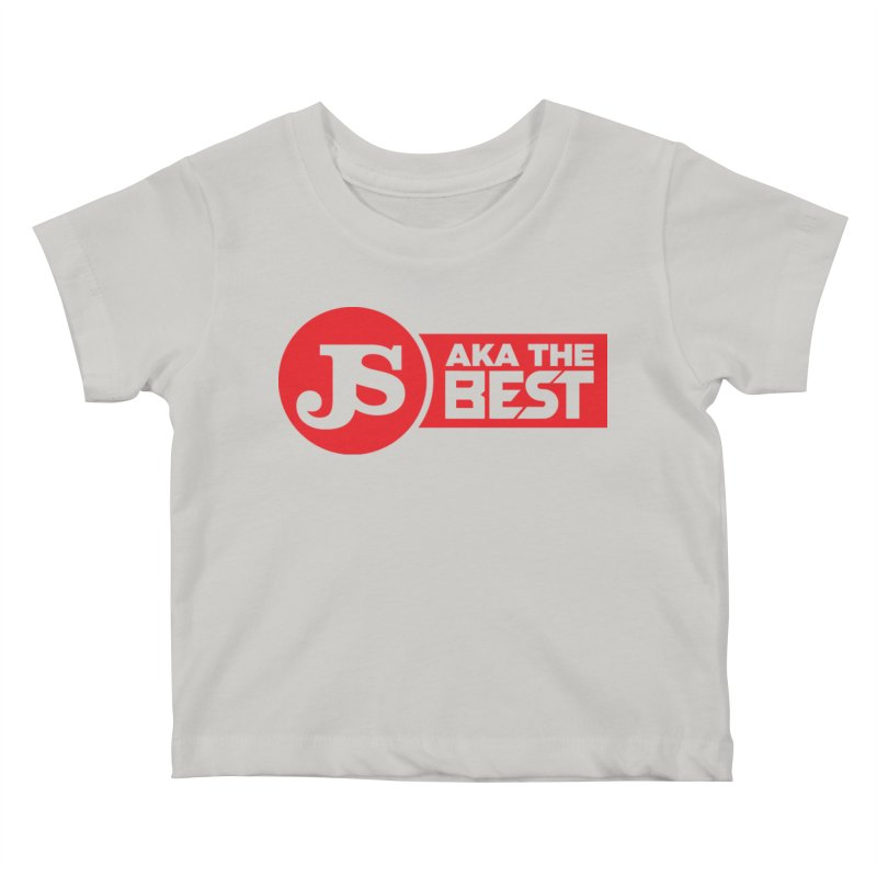 JS aka The Best (Red) Kids Baby T-Shirt by Weapon X Evolution merchandise