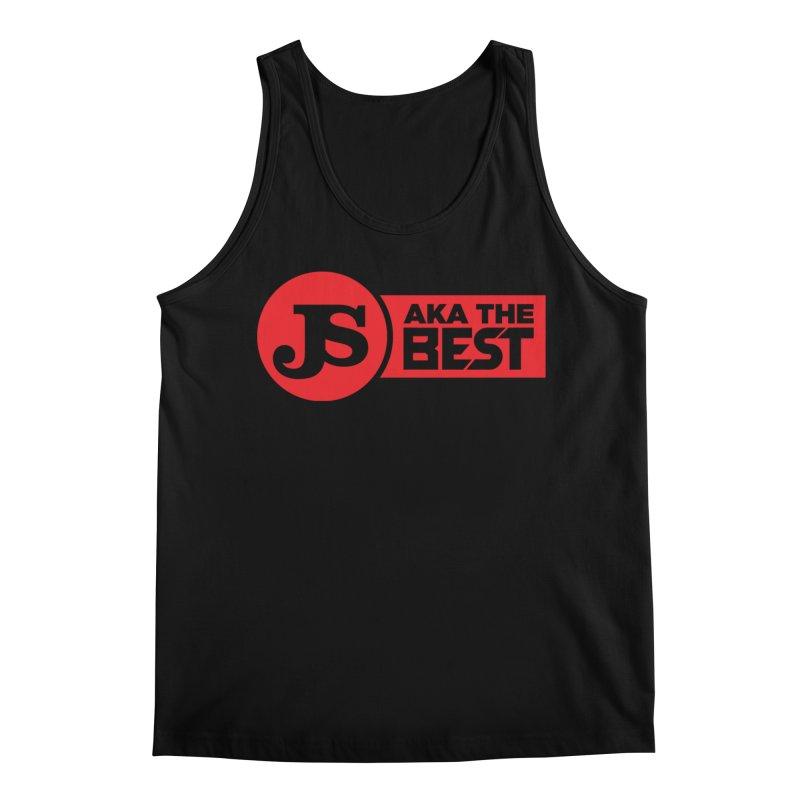 JS aka The Best (Red) Men's Tank by Weapon X Evolution merchandise