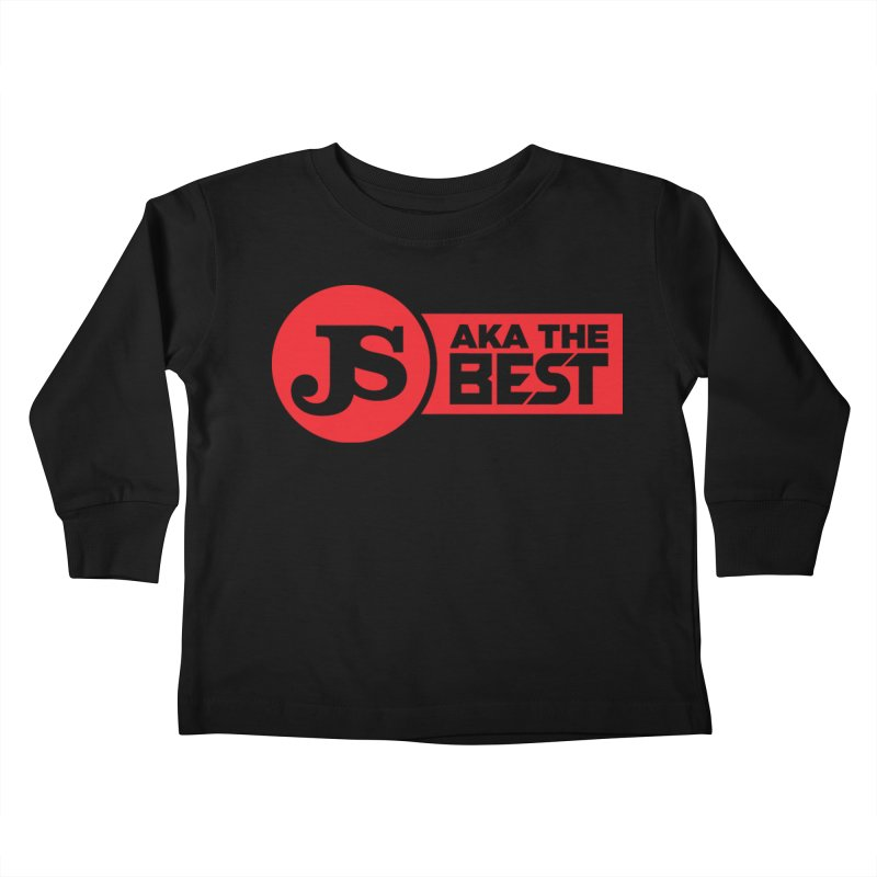 JS aka The Best (Red) Kids Toddler Longsleeve T-Shirt by Weapon X Evolution merchandise