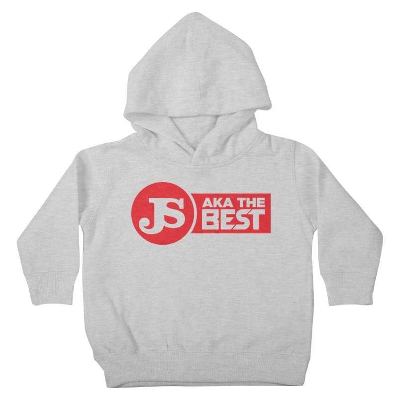 JS aka The Best (Red) Kids Toddler Pullover Hoody by Weapon X Evolution merchandise