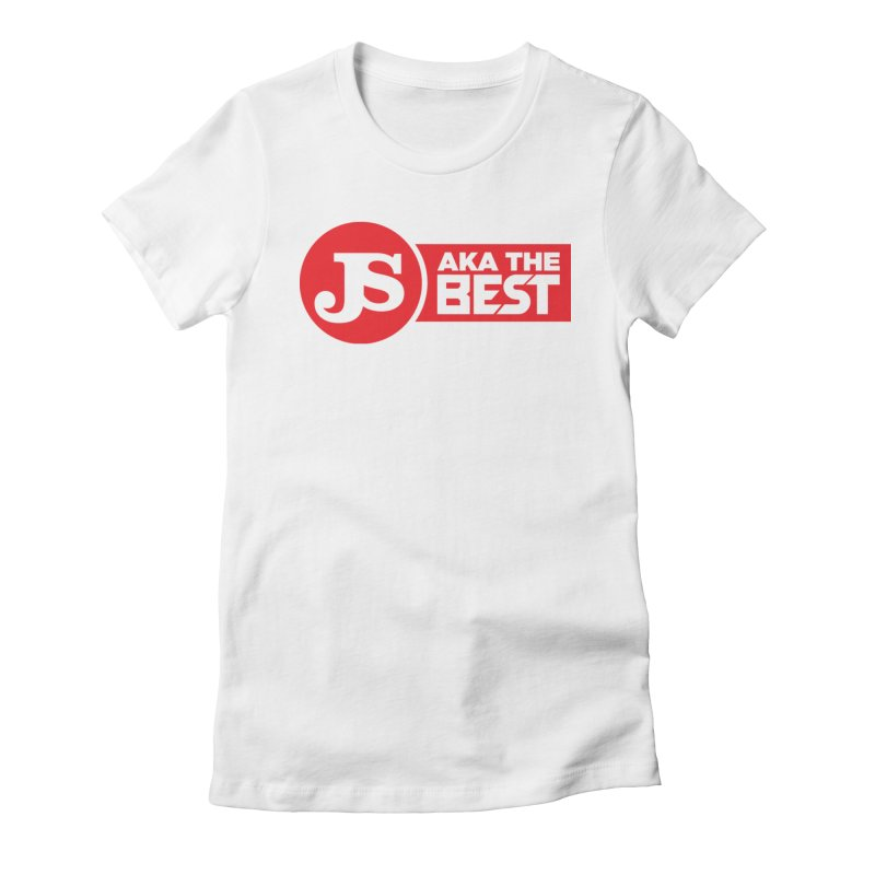 JS aka The Best (Red) Women's Fitted T-Shirt by Weapon X Evolution merchandise