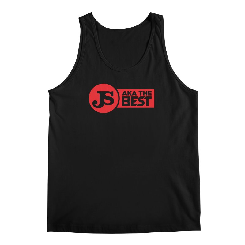 JS aka The Best (Red) Men's Tank by Weapon X Evolution merchandise