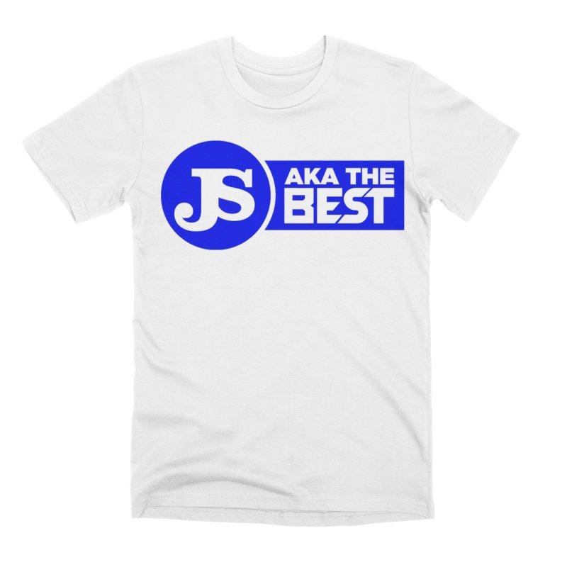 JS aka The Best (Blue) Men's Premium T-Shirt by Weapon X Evolution merchandise