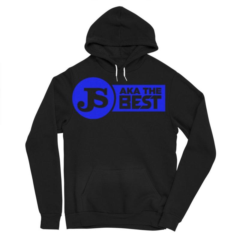 JS aka The Best (Blue) Men's Sponge Fleece Pullover Hoody by Weapon X Evolution merchandise